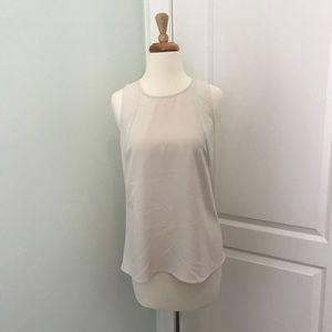 Banana Republic off white blouse size Small